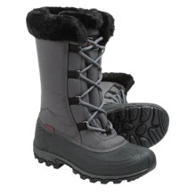 Kamik Rival Snow Boots - Waterproof, Insulated (For Women) in Charcoal 2 - Closeouts