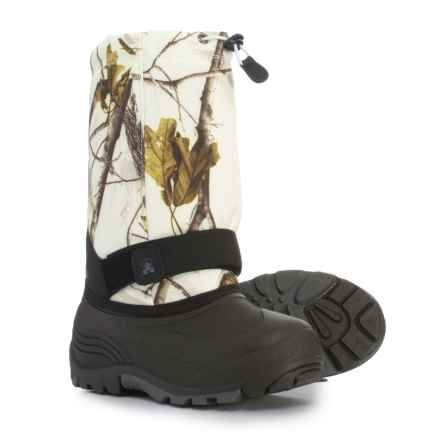 Kamik Rocket 2 Pac Boots - Waterproof, Insulated (For Boys) in Snow Camo - Closeouts