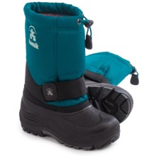 Kamik Rocket Pac Boots (For Little and Big Boys) in Ink - Closeouts