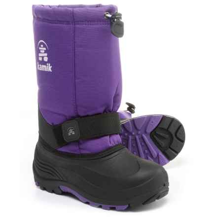 Kamik Rocket Pac Boots - Insulated (For Big and Little Kids) in Purple - Closeouts
