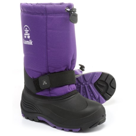 Kamik Rocket Pac Boots - Insulated (For Big and Little Kids) in Purple