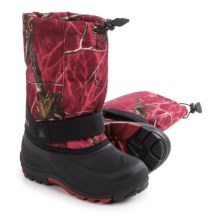 Kamik Rocket2 Winter Boots - Waterproof (For Youth Boys and Girls) in Red - Closeouts