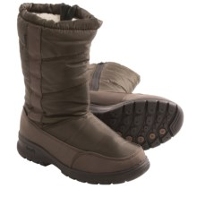 Kamik Saltlake Snow Boots - Waterproof (For Women) in Dark Brown - Closeouts