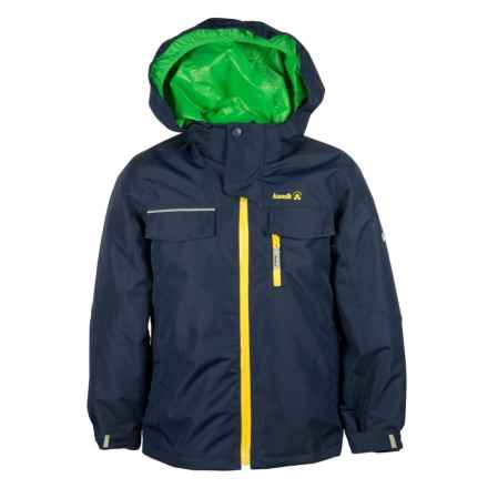 Kamik Sawyer Down Jacket - Waterproof, 3-in-1 (For Big Boys) in Peacoat - Closeouts