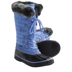 Kamik Scarlet 2 Snow Boots - Insulated (For Women) in Sky Blue