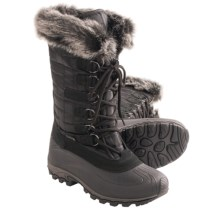 Kamik Scarlet 3 Snow Boots - Insulated (For Women) in Black - Closeouts