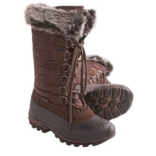 Kamik Scarlet 3 Snow Boots - Insulated (For Women) in Dark Brown - Closeouts