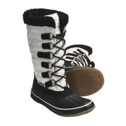 Kamik Scarlet Winter Pac Boots - Insulated, 200g Thinsulate® (For Women) in White