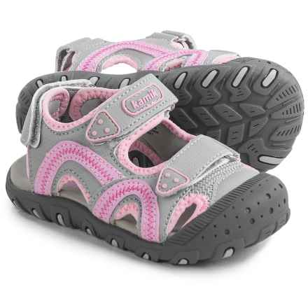 Kamik Sea Turtle Sport Sandals (For Toddlers) in Pink - Closeouts