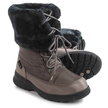 Kamik Seattle Snow Boots - Waterproof, Insulated (For Women) in Brown - Closeouts
