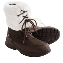 Kamik Seattle Snow Boots - Waterproof, Insulated (For Women) in Dark Brown - Closeouts