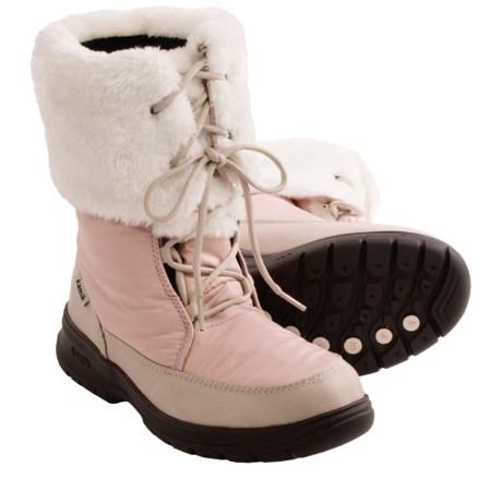Women Snow Boots Waterproof | Homewood Mountain Ski Resort