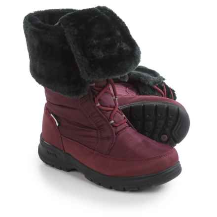 Kamik Seattle2 Snow Boots - Waterproof, Insulated (For Women) in Burgandy - Closeouts
