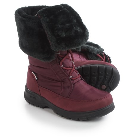 Kamik Seattle2 Snow Boots - Waterproof, Insulated (For Women) in Burgandy