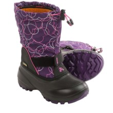 Kamik Shadow5 Gore-Tex® Pac Boots - Waterproof (For Little Kids) in Eggplant - Closeouts