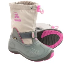 Kamik ShadowG Gore-Tex® Pac Boots - Waterproof (For Little Kids) in Light Grey - Closeouts
