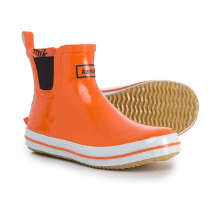 Kamik SharonLo Rain Boots - Waterproof (For Women) in Orange - Closeouts