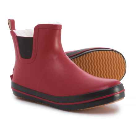 Kamik Shelly Lo Rain Boots - Waterproof (For Women) in Red - Closeouts