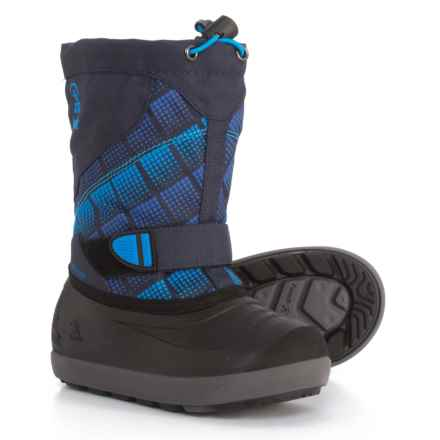 Kamik Skiland 2 Pac Boots - Waterproof, Insulated (For Boys) in Navy Blue - Closeouts