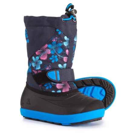 Kamik Skiland2 Pac Boots - Waterproof, Insulated (For Girls) in Navy/Magenta - Closeouts