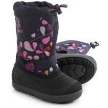 Kamik Skiland2 Pac Boots - Waterproof, Insulated (For Little and Big Kids) in Navy - Closeouts