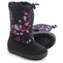 Kamik Skiland2 Pac Boots - Waterproof, Insulated (For Toddlers) in Navy - Closeouts