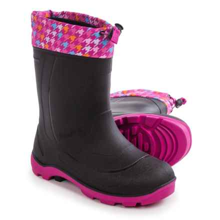 Kamik Snobuster2 Pac Boots - Waterproof, Insulated (For Big Girls) in Magenta/Blue - Closeouts