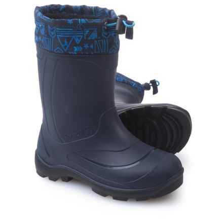 Kamik Snobuster2 Pac Boots - Waterproof, Insulated (For Big Girls) in Navy Marine - Closeouts