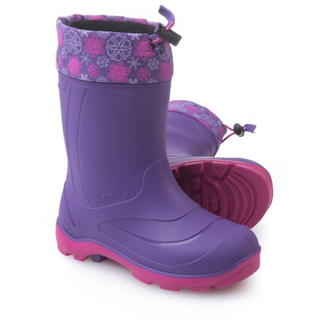 Kamik Snobuster2 Pac Boots - Waterproof, Insulated (For Big Girls) in Purple/Magenta/Mauve