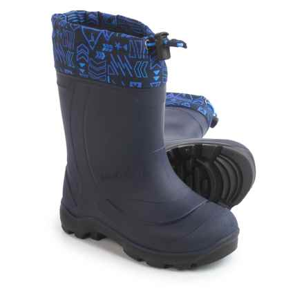 Kamik Snobuster2 Snow Boots (For Toddlers) in Navy Marine - Closeouts