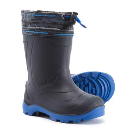 Kamik Snobuster2 Snow Boots - Waterproof, Insulated (For Boys) in Charcoal/Navy - Closeouts