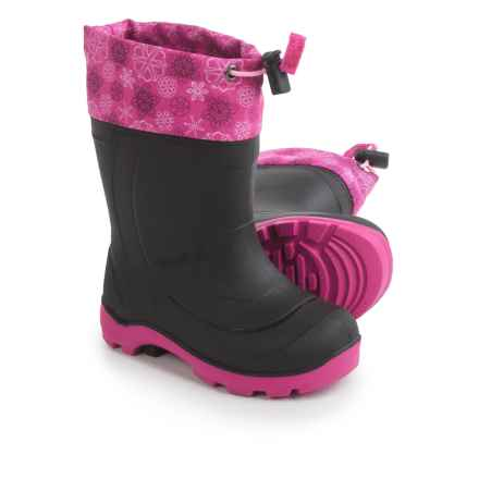 Kamik Snobuster2 Snow Boots - Waterproof, Insulated (For Toddler Girls) in Magenta/Pink - Closeouts