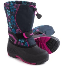 Kamik Snowbank 2 Pac Boots - Waterproof, Multicolored (For Toddlers) in Navy/Magenta - Closeouts