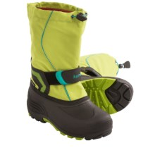 Kamik Snowbank Winter Pac Boots (For Youth Boys and Girls) in Lime - Closeouts