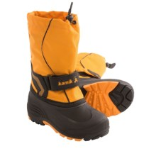 Kamik Snowbank Winter Pac Boots (For Youth Boys and Girls) in Mandarin Orange - Closeouts