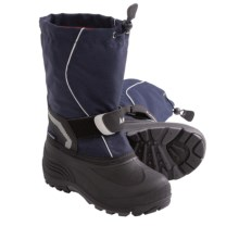 Kamik Snowbank Winter Pac Boots (For Youth Boys and Girls) in Navy - Closeouts