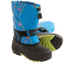 Kamik Snowbank2 Winter Pac Boots (For Big Kids) in Blue - Closeouts