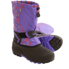 Kamik Snowbank2 Winter Pac Boots (For Big Kids) in Lavender - Closeouts