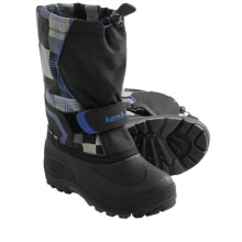 Kamik Snowbank2 Winter Pac Boots (For Youth Boys and Girls) in Black - Closeouts