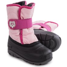 Kamik Snowbug3 Winter Pac Boots - Waterproof (For Toddlers) in Pink - Closeouts
