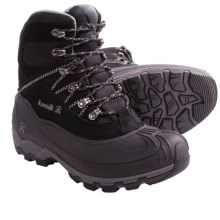 Kamik Snowcavern Winter Boots - Waterproof, Insulated (For Men) in Black - Closeouts
