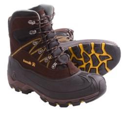 Kamik Snowcavern Winter Boots - Waterproof, Insulated (For Men) in Black