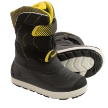 Kamik Snowchase Pac Boots - Waterproof, Insulated (For Little Kids) in Black - Closeouts