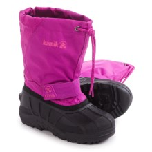 Kamik Snowdrift 4 Pac Boots - Insulated (For Little and Big Kids) in Violet - Closeouts