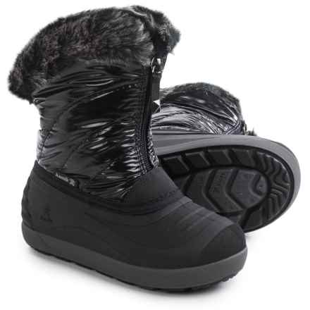 Kamik Snowflare Pac Boots - Insulated (For Toddlers) in Black - Closeouts