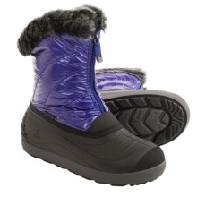 Kamik Snowflare Snow Boots - Waterproof (For Little and Big Kids) in Cobalt - Closeouts