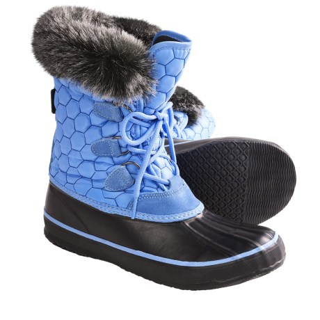 Kamik Snowfling 2 Snow Boots - Insulated (For Women) in Sky Blue