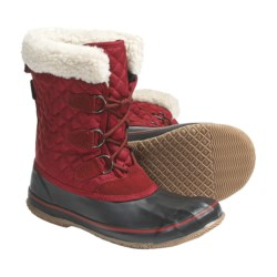 Kamik Snowfling Winter Pac Boots - Waterproof, 200g Thinsulate® (For Women) in Red