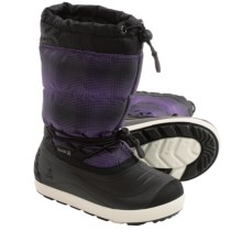 Kamik Snowflurry Snow Boots - Waterproof (For Little and Big Kids) in Lavender - Closeouts