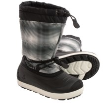 Kamik Snowflurry Snow Boots - Waterproof (For Little Kids) in Light Grey - Closeouts
